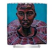 Bride - Portrait African Shower Curtain