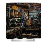 Briden-roen Sawmill Shower Curtain