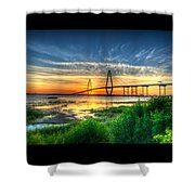 Bridge 3 Shower Curtain