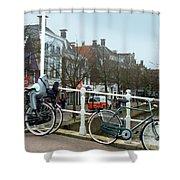 Bridge Across Canal - Amsterdam Shower Curtain
