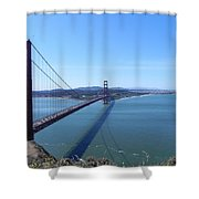 Bridge America Shower Curtain