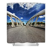 Bridge Arch Shower Curtain