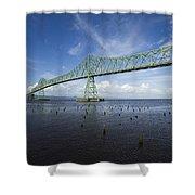 Bridge Astoria Or 2 A Shower Curtain