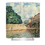 Bridge At Hampton Court Shower Curtain