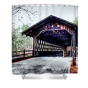 Bridge At Stone Mountain Shower Curtain