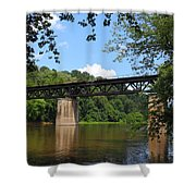 Bridge Crossing The Potomac River Shower Curtain