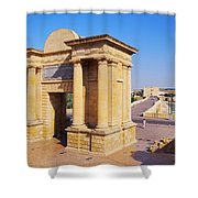 Bridge Gate In Cordoba Shower Curtain