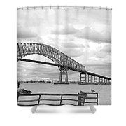 Bridge II Shower Curtain