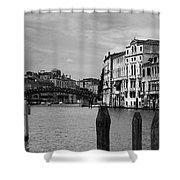 Bridge In The Gran Canal Shower Curtain