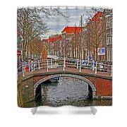 Bridge Of Delft Shower Curtain