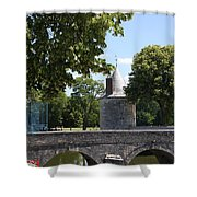 Bridge Over Chateau Moat Shower Curtain