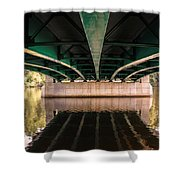 Bridge Over The Connecticut River Shower Curtain