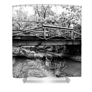 Bridge Over The Delaware Canal At Washington's Crossing Shower Curtain