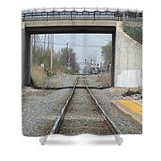 Bridge Overpass Shower Curtain