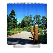 Bridge Perspective Shower Curtain