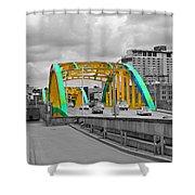 Bridge Pop Shower Curtain