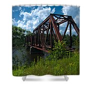 Bridge To A Time Gone By Shower Curtain