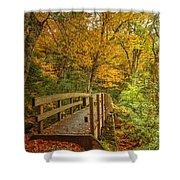 Bridge To Eden Shower Curtain