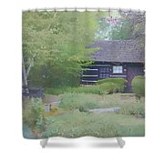 Bridge To Harmony Shower Curtain