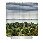 Bridge To Mackinac Shower Curtain