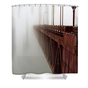 Bridge To Obscurity Shower Curtain