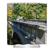Bridge To Serenity Shower Curtain