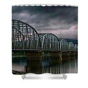 Bridge To Teslin Shower Curtain