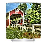 Bridge To Yesterday Shower Curtain