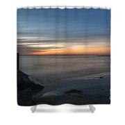 Bridge View Shower Curtain