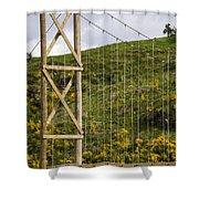 Bridge Work Shower Curtain