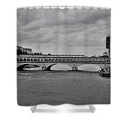 Bridges In Paris Shower Curtain