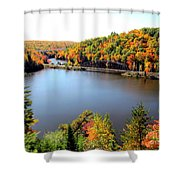 Old Bridge, New Bridge Shower Curtain
