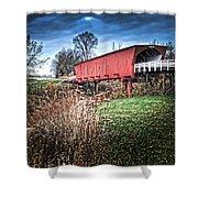 Bridges Of Madison County Shower Curtain