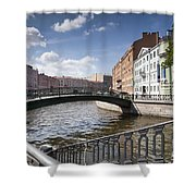 Bridges Of St. Petersburg Shower Curtain