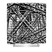 Bridging Books Shower Curtain