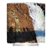 Bridging The Chasm 03 Shower Curtain