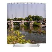 Bridgnorth Bridge Shower Curtain