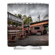 Bridgnorth Railway Station Shower Curtain