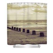 Bridlington Beach Shower Curtain