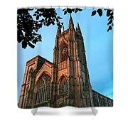 Bridlington Priory At Sunset Shower Curtain