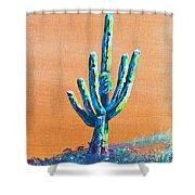 Bright Cactus Shower Curtain
