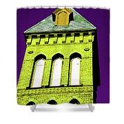 Bright Cross Tower Shower Curtain
