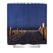 Bright Dunes Shower Curtain
