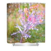 Bright Flower Shower Curtain