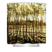 Bright Forest - Bosque Luminoso Shower Curtain