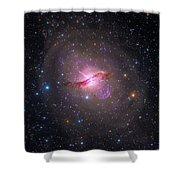 Bright Galaxy Centaurus A Shower Curtain