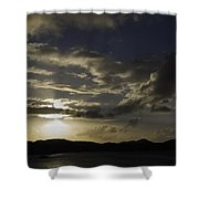 Bright Horizon Shower Curtain