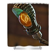 Bright Idea Shower Curtain by Susan Candelario