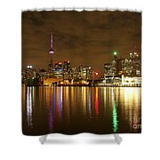 Bright Lights Big City Shower Curtain