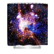 Bright Side Of The Black Hole Shower Curtain
